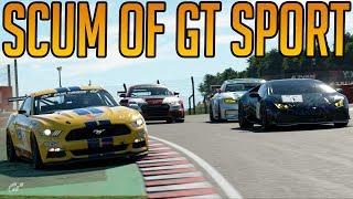 The Scum of Gran Turismo Sport