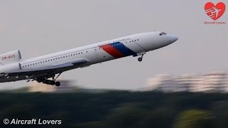 Slovak Government Tu-154M [OM-BYO] Takeoff│Germany, Berlin-Tegel