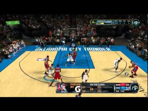 NBA 2K12 My Player: Live streaming