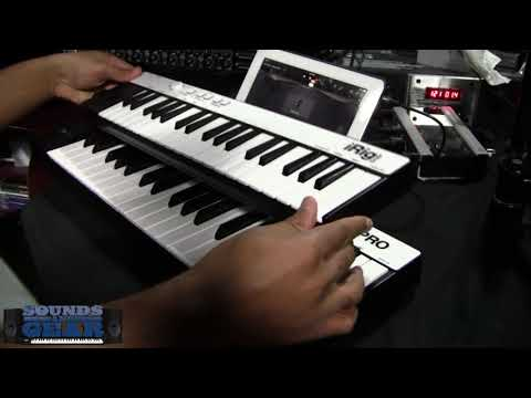 IK Multimedia iRig Keys Pro mobile keyboard review - SoundsAndGear