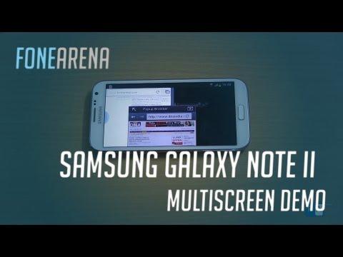 Samsung Galaxy Note 2 Multi screen - Multitasking