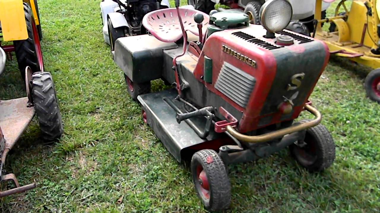 Rare Lawn And Garden Tractors Youtube