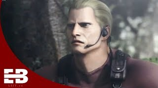 Jack Krauser evolution in Resident Evil series