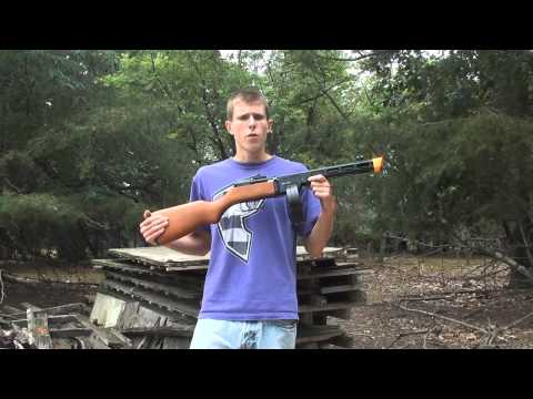 S&T Armament PPSH-41 BlowBack Airsoft Gun Chrono/Shooting