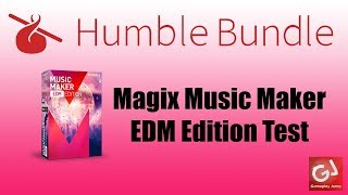 Magix Music Maker EDM Edition/Deeper Shades of House Dance Music Test