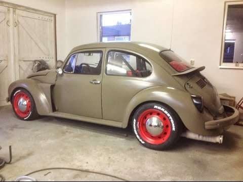 VW bug turbo 350hp street RACING   ej20 STI powered project-subaru FOR SALE !!