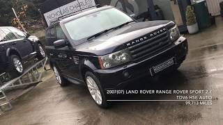 2007(07) Land Rover Range Rover Sport 2.7 TDV6 HSE Auto