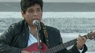 Taxista peruano le cantó al papa Francisco en la Plaza de San Pedro