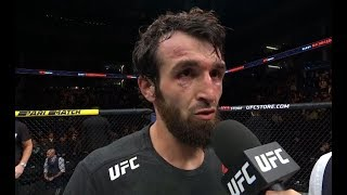 UFC Moscow: Zabit Magomedsharipov Octagon Interview
