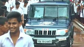 PUTTUR POLICE VVIP CULTURE | Police vehicle siren