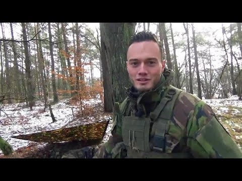 Defensie vlogt: Melvin in Polen. #1 Eten en slapen op oefening