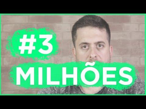 3 MILHÕES DE INSCRITOS l VIDEO EMOCIONAL Vídeos de zueiras e brincadeiras: zuera, video clips, brincadeiras, pegadinhas, lançamentos, vídeos, sustos