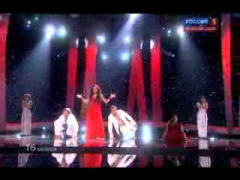 "Sofia Nizharadze ""SHINE"" - EUROVISION 2010 GEORGIA - Semi final"