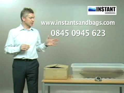 Sandbags - Flood Protection - Instant