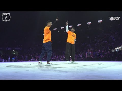 Locking final - Juste Debout 2019 - Cio & Masato vs Tony Gogo & Locking Jay