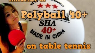 Table Tennis Plastic Balls | Poly Ball 40+ Review