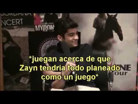Zayn Malik hablando de su relaciòn,su cita con Louis y Pechos.