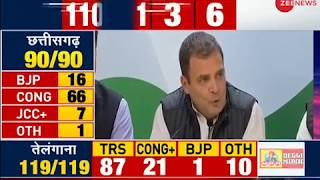 Assembly poll results show people do not trust BJP or PM Modi anymore: Rahul Gandhi