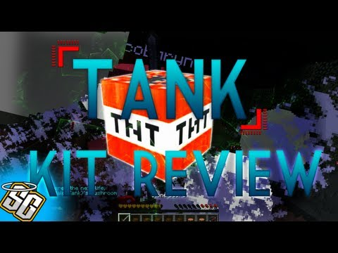 MCPVP.com | Review #39 TANK Kit Review | Minecraft Hunger Games