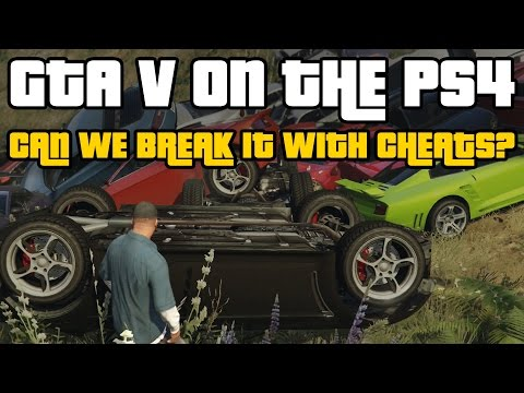 GTA 5 Cheats: We try to break the game again (PS4 Gameplay)