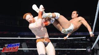 Sheamus vs. Alberto Del Rio - U.S. Title Last Man Standing Match: WWE Main Event, July 8, 2014