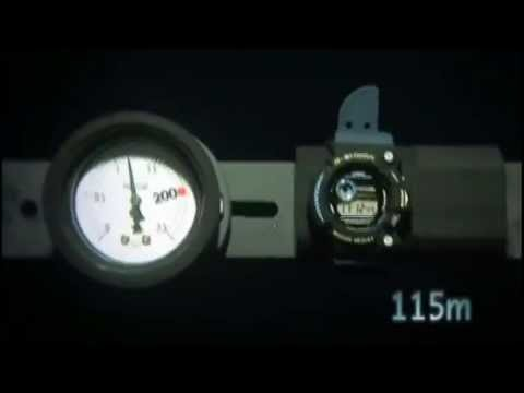 CASIO G-shock tesztvideó HD - G-shock test video High Definition