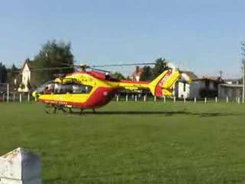 Intervention d'hélicoptère à Beaulieu-Mandeure