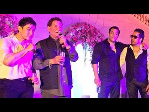 Wow! Aamir And Salman Khan Singing-Dancing At Arpita Khan's Wedding