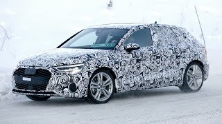 2020 Audi A3 Sportback spy video