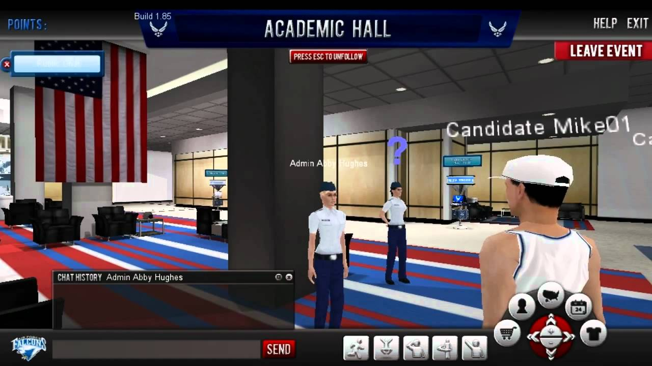 United States Air Force Academy 3d Virtual Campus Tour
