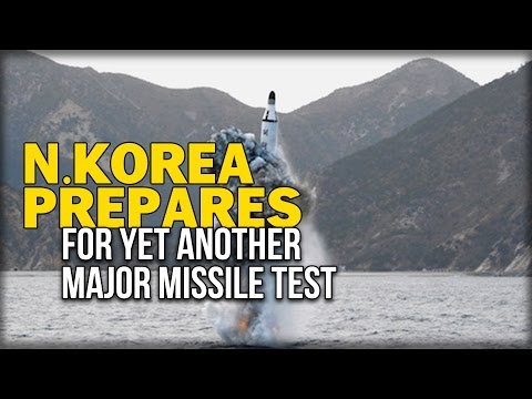N.KOREA PREPARES FOR YET ANOTHER MAJOR MISSILE TEST
