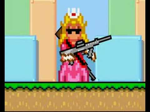 Princess Peach And Daisy Vs. Michael Jackson