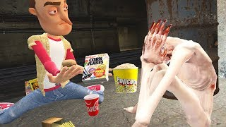 I Tried to Feed Hamburgers to a Homeless SCP in Garry's Mod (Gmod)