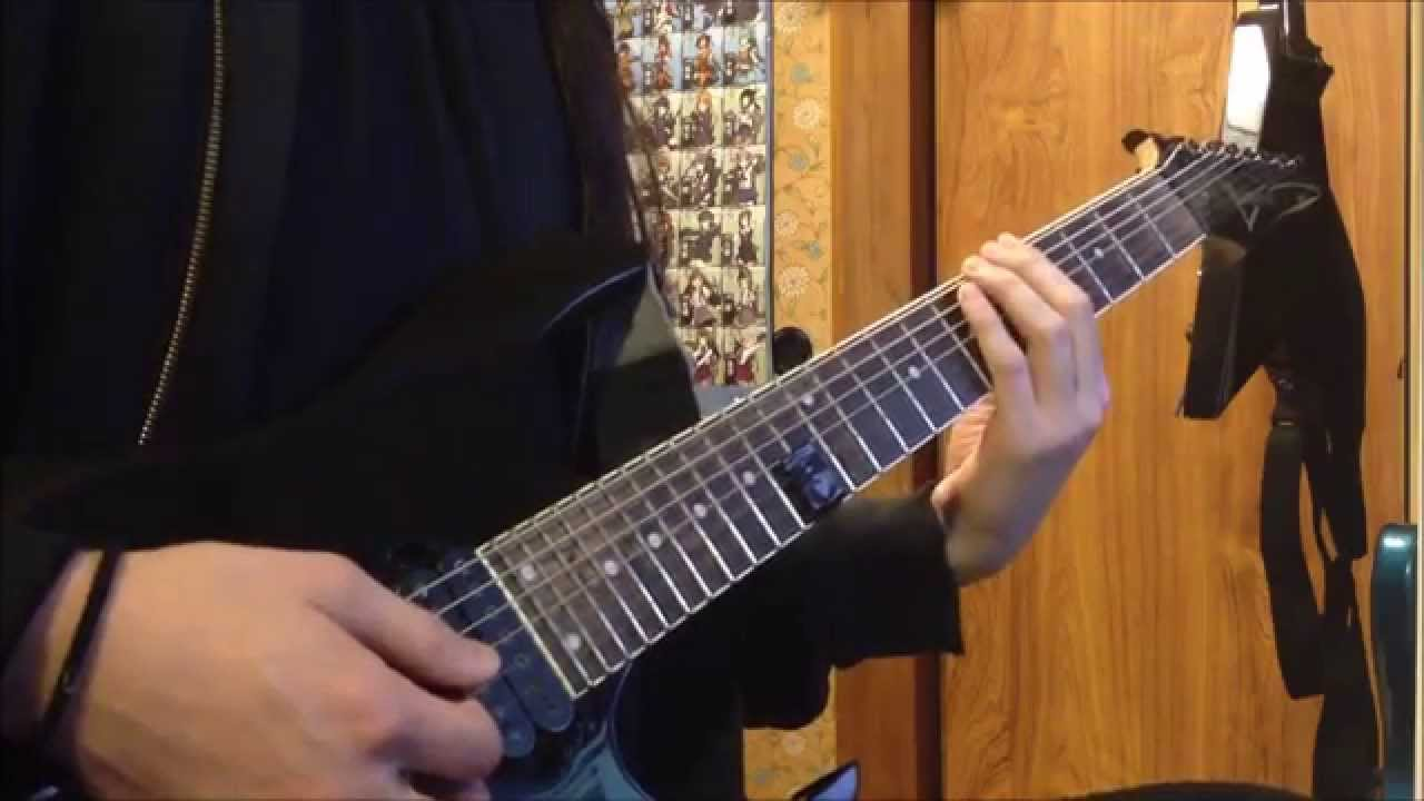 how to play babymetal guitar