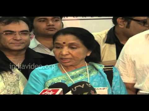 Asha Bhosle acting debut in Marathi