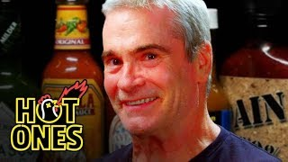 Henry Rollins Channels His Anger at Spicy Wings | Hot Ones