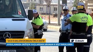 Kahramanmaraş'ta Yapılan Huzur Uygulamasında 8 Aranan Şahıs Yakalandı