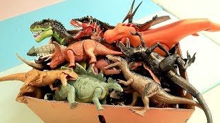 Dinosaur Toys Collection - Jurassic World Fallen Kingdom, Schleich Dino Toys For Kids. Rex