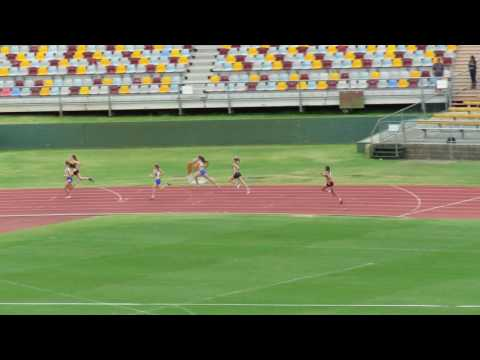 400m Final 14W Lily Burns 5649 Qld State Championships