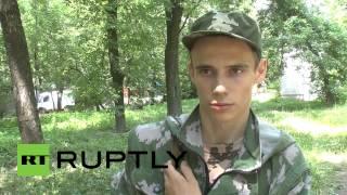 Доброволец из Германии приехал на Украину помогать ополчению