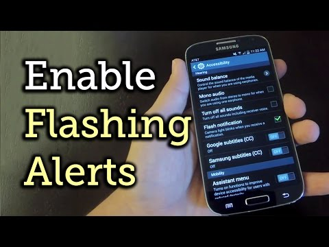 Enable LED Flash Alerts on Your Samsung Galaxy S4 (Or Other Galaxy Device) [How-To]