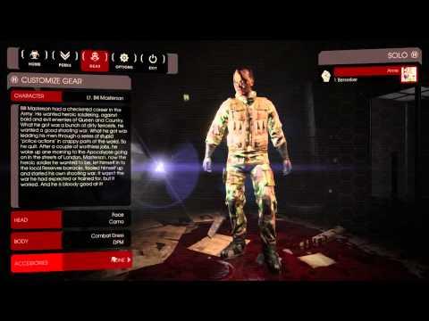 Killing Floor 2 Beta   Character Customization   720p60fps : Killingfloor