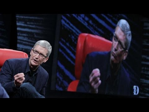 Apple CEO Tim Cook: 'Stay Tuned' For Apple and Facebook - D10 Conference