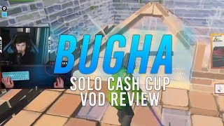 [VOD REVIEW] Bugha's 1st Place Solo Cash Cup: SMG Swaps, Movement, and NEVER GIVE UP/Marketability