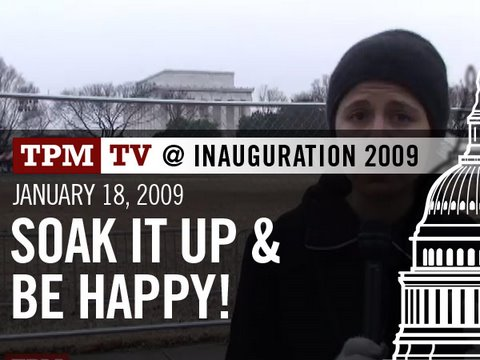 TPMtv at Inauguration: Outside the Lincoln Memorial Concert Video