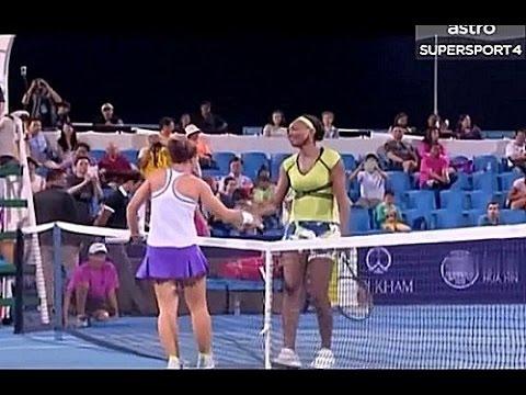Venus Williams vs Sara Errani 2016 Hua Hin Exhibition Highlights