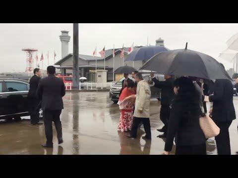 Tun M tiba di Tokyo