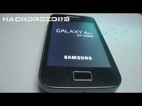 How To Install Samsung Galaxy S2 Ics Rom On Galaxy Ace v9