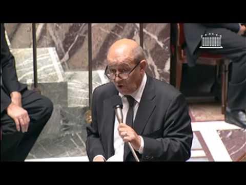 QAG 16.10.13. Philippe FOLLIOT à Jean-Yves Le DRIAN