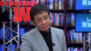 Filipino Reporter Maria Ressa on Duterte's Targeting of the Press & How Facebook Aids Authoritarians